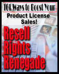 Thumbnail Resell Rights Renegade