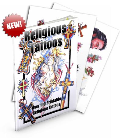 Thumbnail ReligiousTattoos | Over 100 Printable Religious Tattoos