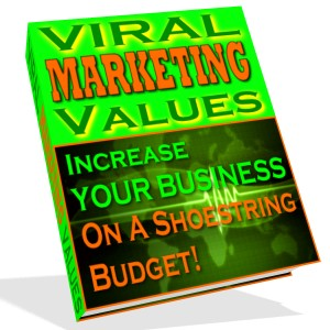 Pay for viral marketing values report