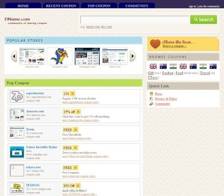 Coupon script php