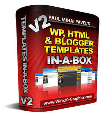 Pay for WordPress: HTML And Blog Templates In-A-Box