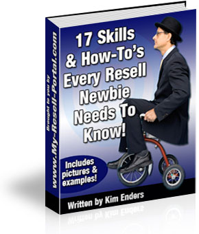 Pay for New! 17 Skills & How To Every resell rights newbie