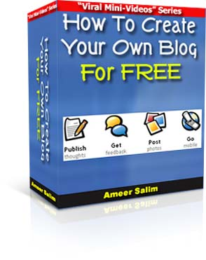 Pay for New! How To Create Your Own Blog For FREE