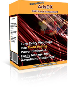 Pay for NEW!  AdsDX Software - advertisers management Script