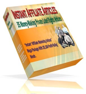 Pay for New! Instant Affiliate Marketing Articles - Privte Lable Rights