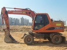 Thumbnail DAEWOO DOOSAN SOLAR 140W-V / 160W-V (140WV / 160WV) WHEELED EXCAVATOR Service Parts Catalogue Manual