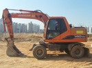 Thumbnail DAEWOO DOOSAN SOLAR 140W-V (140WV) Wheeled Excavator Service Parts Catalogue Manual