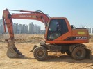 Thumbnail DAEWOO DOOSAN SOLAR 140W-V (140WV) RAIL WAY WHEELED EXCAVATOR Service Parts Catalogue Manual