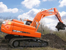 Thumbnail DAEWOO DOOSAN DX255LC-3 (DI EXP) CRAWLER EXCAVATOR Service Parts Catalogue Manual