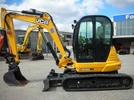 Thumbnail JCB 8065 DL MINI CRAWLER EXCAVATOR Parts Catalogue Manual (SN: 01538310-01538999)