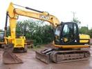 Thumbnail JCB JS115 AUTO Tracked Excavator Parts Catalogue Manual (SN: 01168000-01168999)