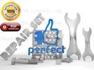 Thumbnail Komatsu PC200-6L PC200LC-6L Crawler Excavator Parts Catalogue Manual - SN A80001-A82000