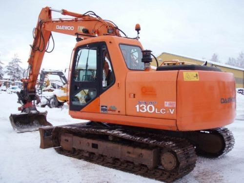 daewoo doosan solar 130lc v  di exp  crawler excavator service part JCB Excavator Cat Excavators