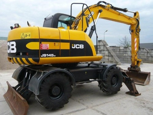 Free JCB JS145W Wheeled Excavator Parts Catalogue Manual (SN: 00810001-00810248) Download thumbnail