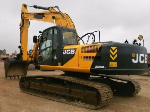 Pay for JCB JS260 XD Auto Tracked Excavator Parts Catalogue Manual (SN: 01040003-01041999)