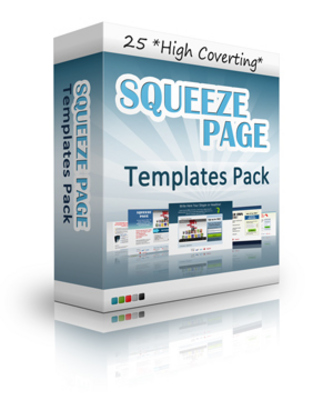 Pay for 25 Squeeze Page Templates