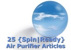 Air Purifier Spin-Ready Articles