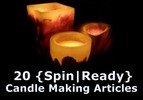 Candle Making Spin-Ready Articles