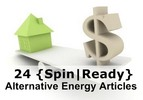 Alternative Energy Spin-Ready Articles