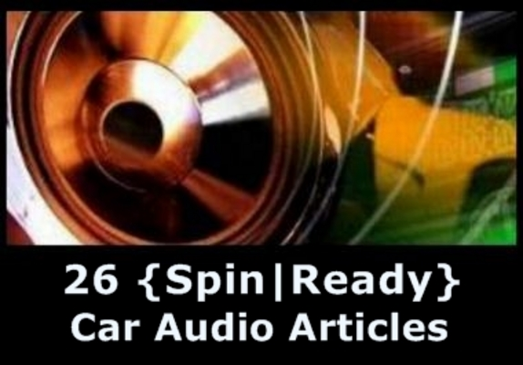 Pay for 26 Car Audio Spin-Ready Articles