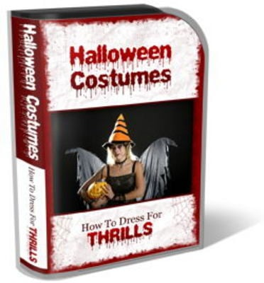Pay for Halloween Costumes Mini Site Template Pack
