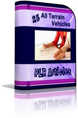 Pay for ATV All Terrain Vehicle PLR Articles