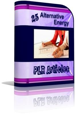 Pay for Alternative Energy PLR Articles