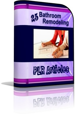 Pay for Bathroom Remodeling PLR Articles