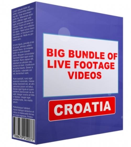 Pay for Big Bundle Of Live Footage Videos - Croatia