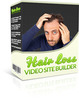 Thumbnail Hair Loss Video Site Builder