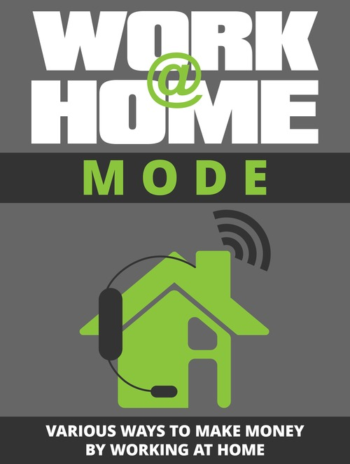 Pay for Work at Home Mode. (Easy download)