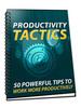Thumbnail Productivity Tactics