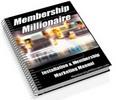 Thumbnail Master Resell Rights to Membership Millionaire!