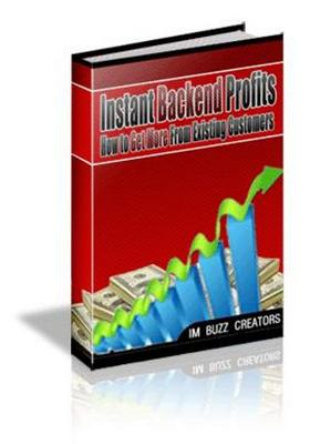 Free Instant Backend Profits eBooks  Download thumbnail