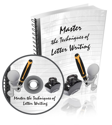Pay for Master The Techniques of Letter Writing