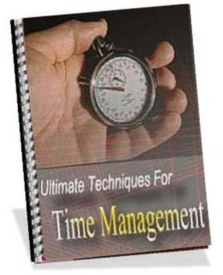 Pay for Ultimate Techniques For Time Management