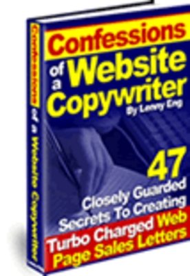Pay for Confessions of a Website Copywriter