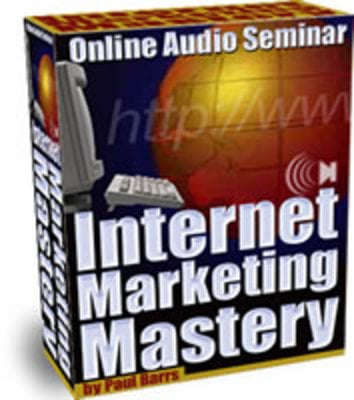 Pay for Internet Marketing Mastery Volume 3
