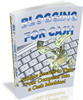 Thumbnail Blogging for Cash - Simple Secrets PDF eBook
