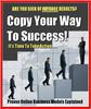 Thumbnail Copy Your Way to Success - eBook