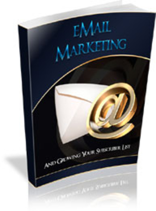 Pay for Email Marketing & Growing Your Subscriber List - PDF eBook