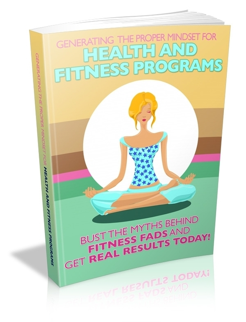 Pay for Generating the Proper Mindset for Health and Fitness Program
