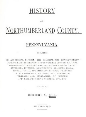 Pay for Genealogy Northumberland County, Pa, Penn History