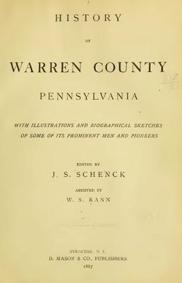 Pay for Genealogy Warren County, Pa, Penn History