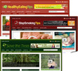 Thumbnail 3 Niche Blogs (Healthy Eating, Smoking & Trees)