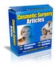 Thumbnail Cosmetic Surgery PLR Articles Pack - Very High Quality!