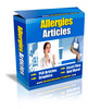 Thumbnail Allergies PLR Articles Pack - Very High Quality!