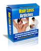 Thumbnail Hair Loss PLR Articles - Very High Quality!