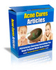 Thumbnail Acne Cures PLR Articles Pack - Very High Quality!