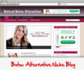 Thumbnail Botox Alternative Niche Blog